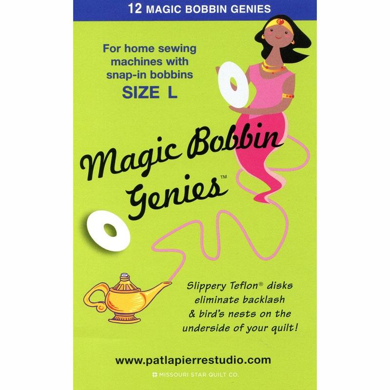 Magic Bobbin Genies - Size L Bobbins