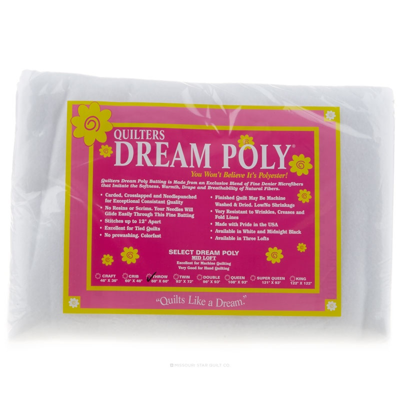 Quilter's Dream Poly Select Throw Batting