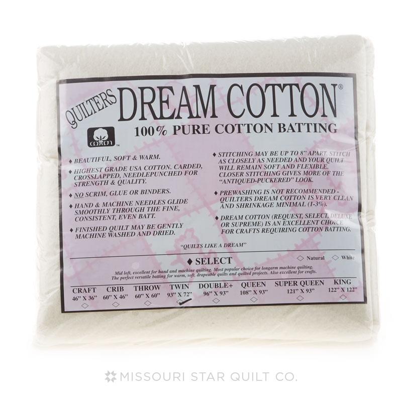 Dream Cotton Deluxe  Natural Twin