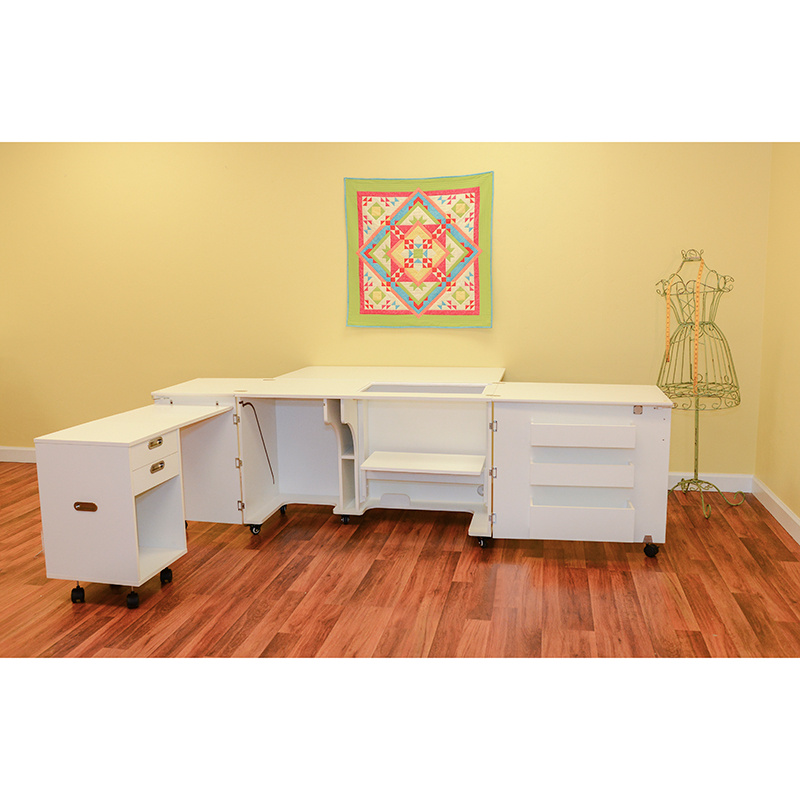 Aussie II Sewing Cabinet - Ash White