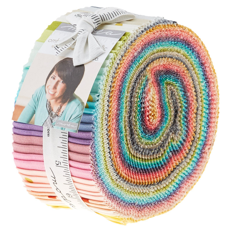 Ombre Confetti Metallic Jelly Roll