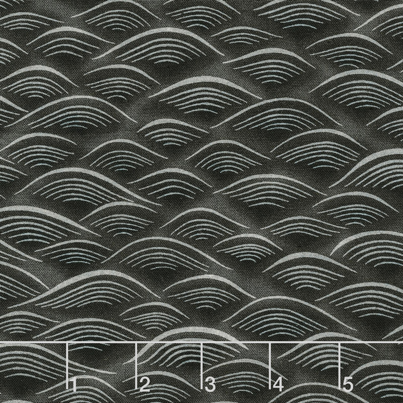 Imperial Collection 14 - Waves Black Yardage