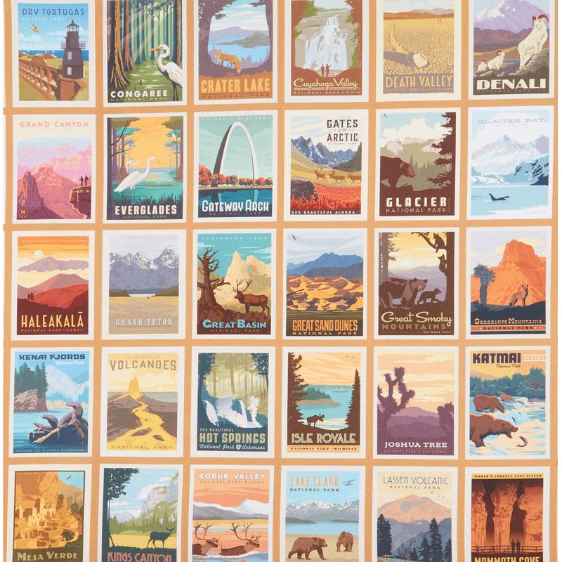 National Parks - Poster Panel US