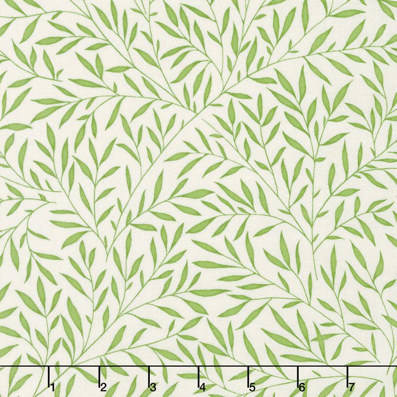 Kelmscott - Lily Leaf Green by William Morris for Free Spirit