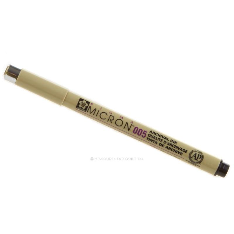 Pigma Pen Black .25mm