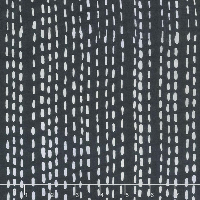 Stitched - Running Stitch - Charcoal
