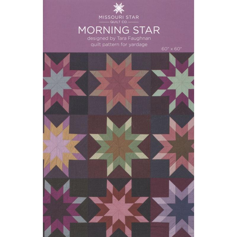 PAT2584 Morning Star Quilt Pattern by Missouri Star