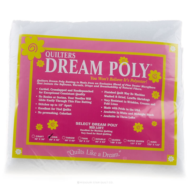 Quilter's Dream Poly Select Crib Batting