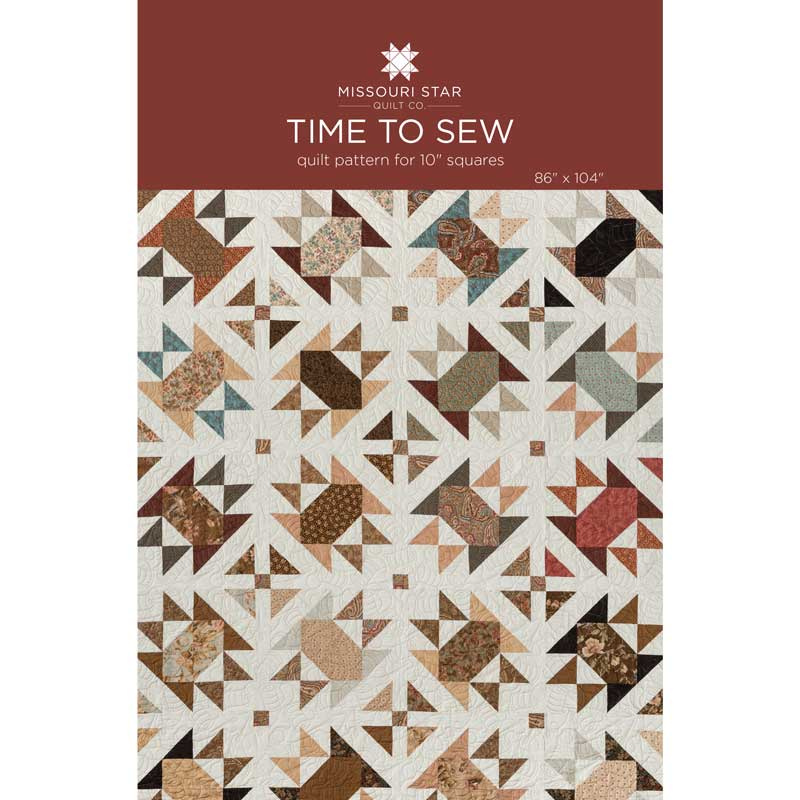 Time to Sew Quilt Pattern by Missouri Star