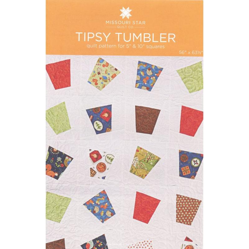 Tipsy Tumbler Quilt Pattern