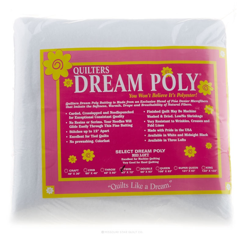 Quilter's Dream Poly Select Twin Batting