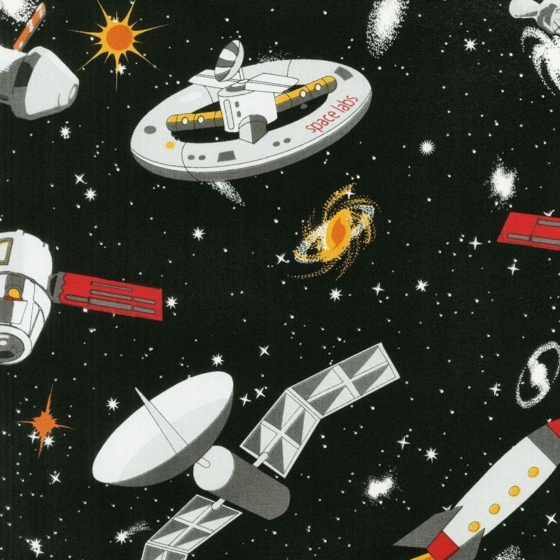 SPACEWALK SPACESHIPS GLOW IN THE DARK 9028G