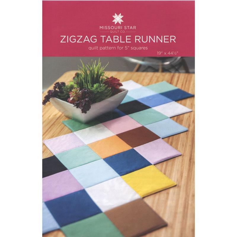 Missouri Star Quilt Co. Zigzag Table Runner Pattern