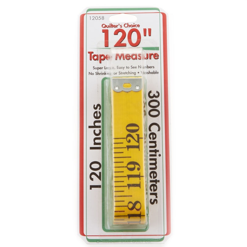 Tape Measure 120 Inch Yellow