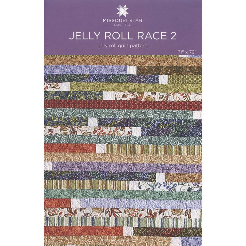 MISSOURI STAR Jelly Roll Race 2 Quilt Pattern