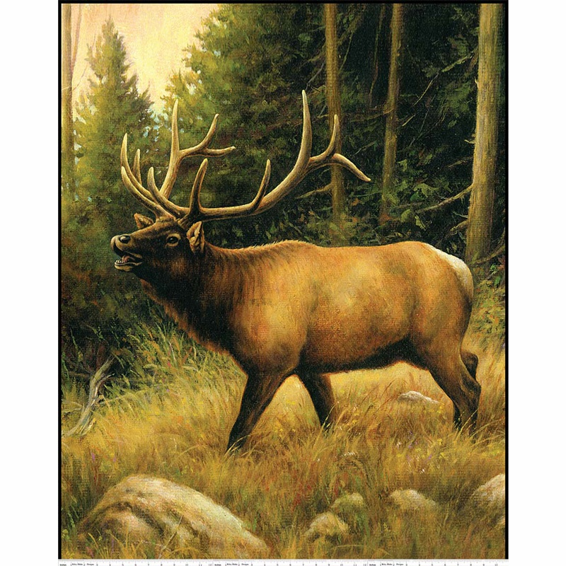 Majestic Elk Digital Panel