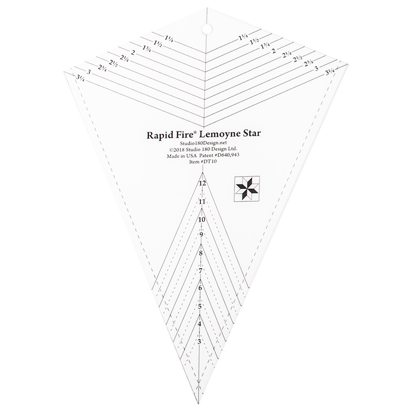 Rapid Fire Lemoyne Star Template