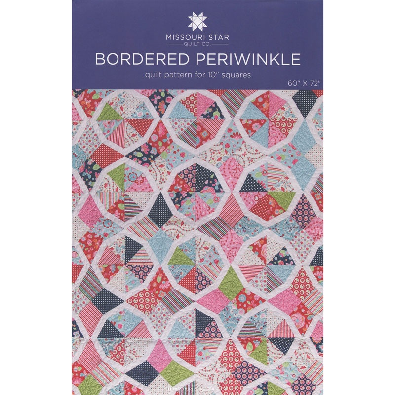 Bordered Periwinkle Pattern by MSQC