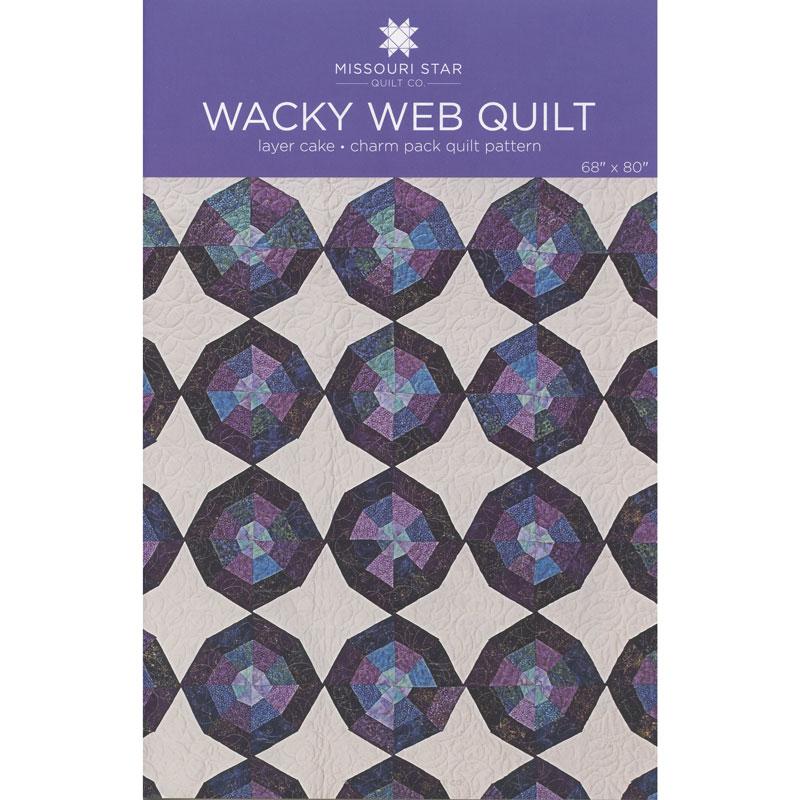 Missouri Star Quilt Co. Wacky Web Quilt Pattern