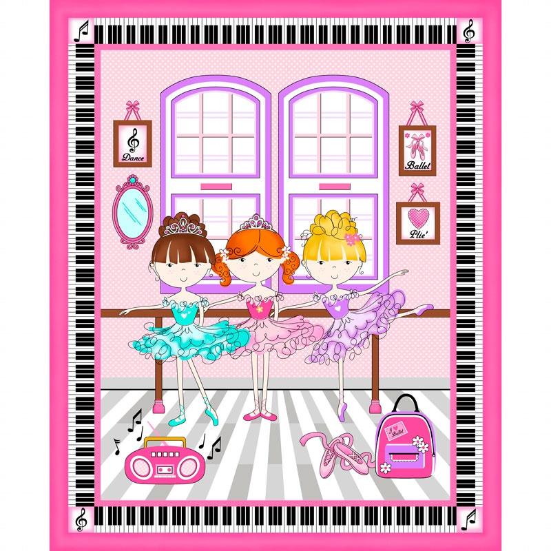Bella-rina - Ballet Pink Panel