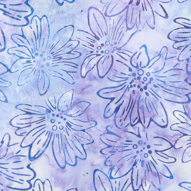 AMD-17760-23 Lavender Bright Blooms