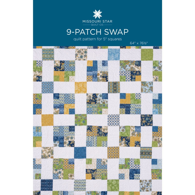Nine Patch Swap Quilt Pattern by MSQC