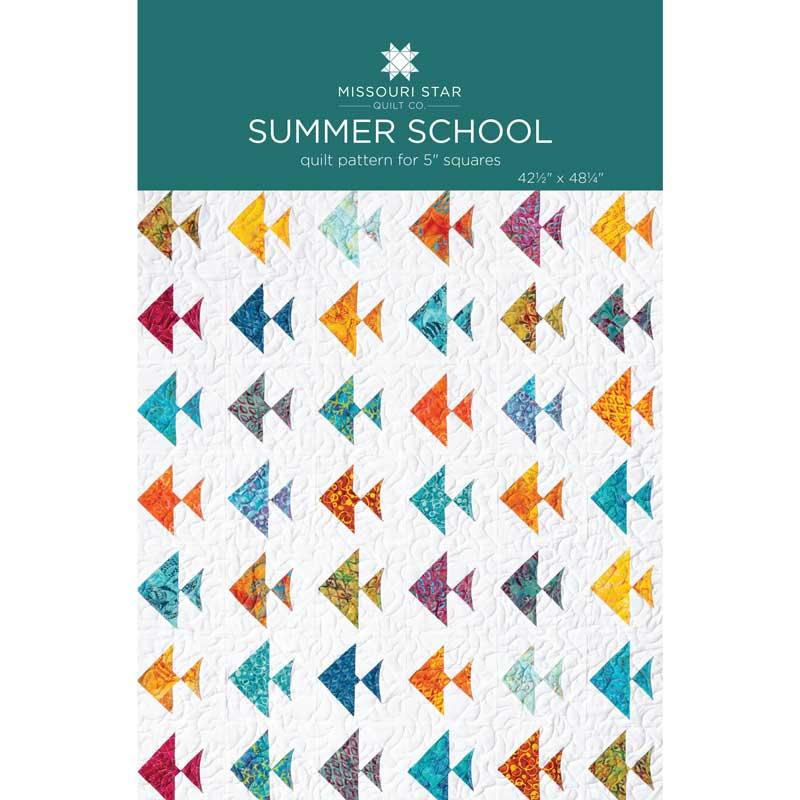 Summer School Quilt Pattern by MSQC