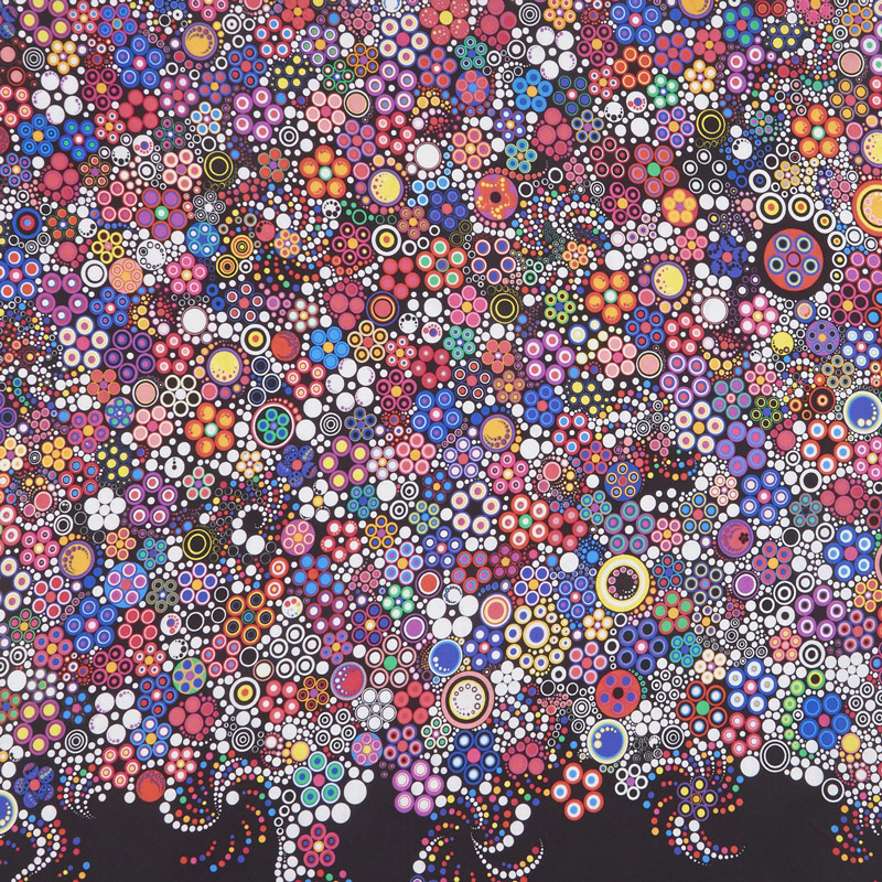 Effervescence - Dots Bright Digitally Printed Yardage