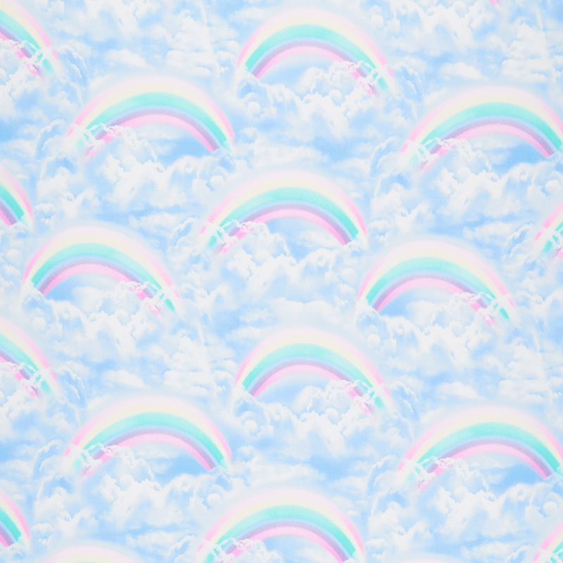 Double Rainbow in Sky