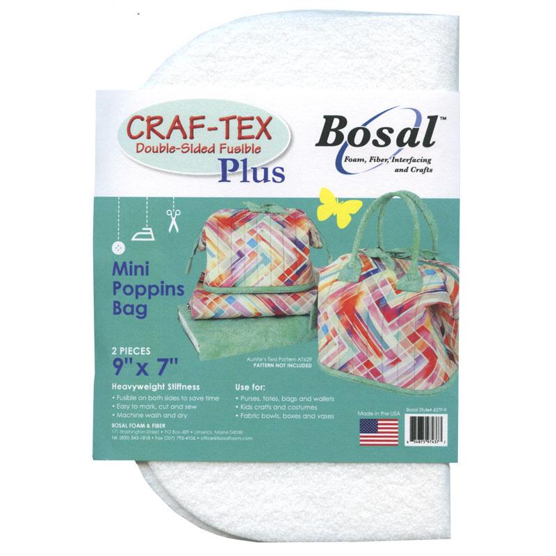 Bosal Craf-Tex Plus precut bag and basket bottoms