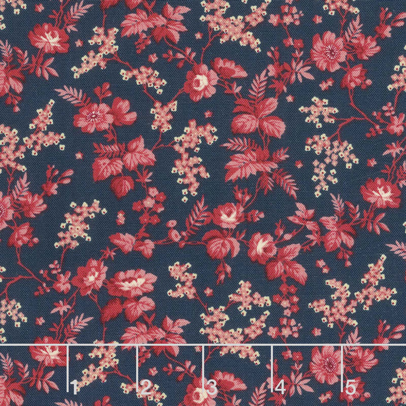 Bricolage - Trailing Flowers Navy