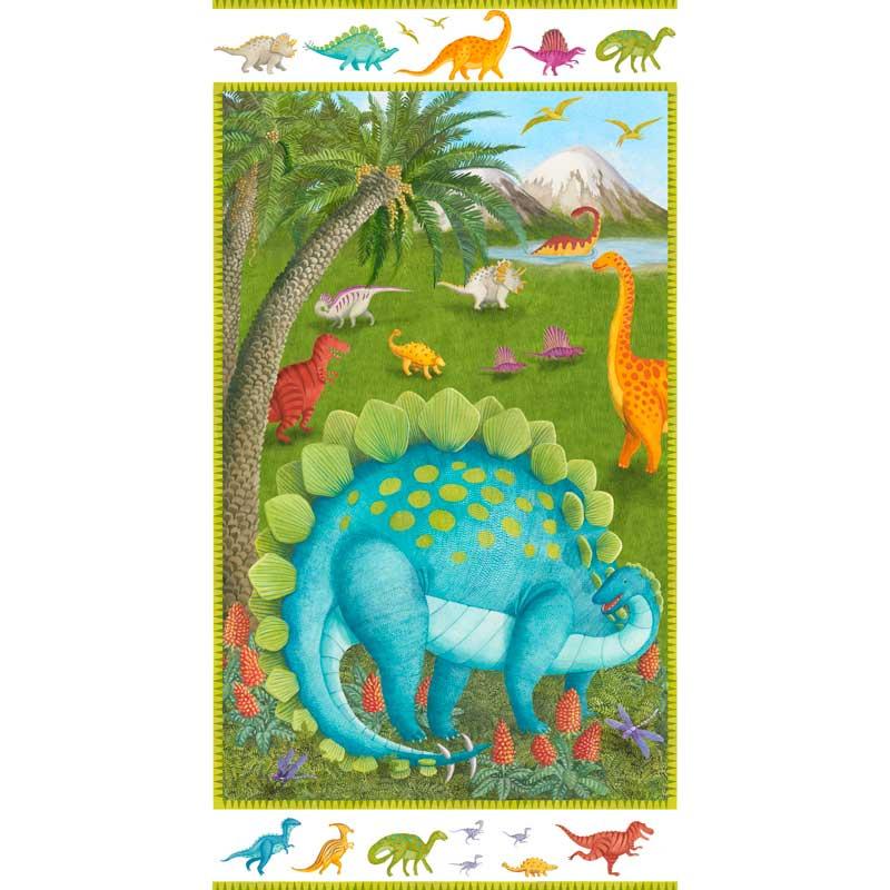 Dino Party | 24 Fabric Panel