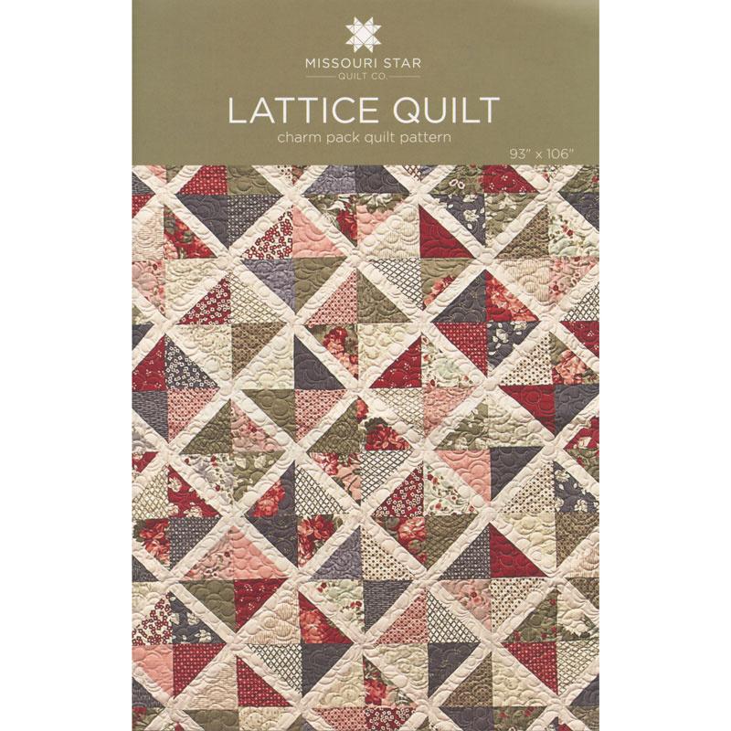 Lattice Quilt Pattern by MSQC