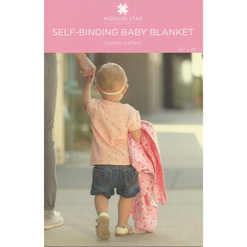MISSOURI STAR Self Binding Baby Blanket Pattern