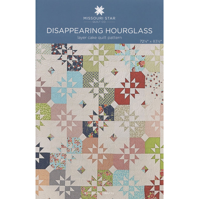 Disappearing Hourglass Pattern by MSQC