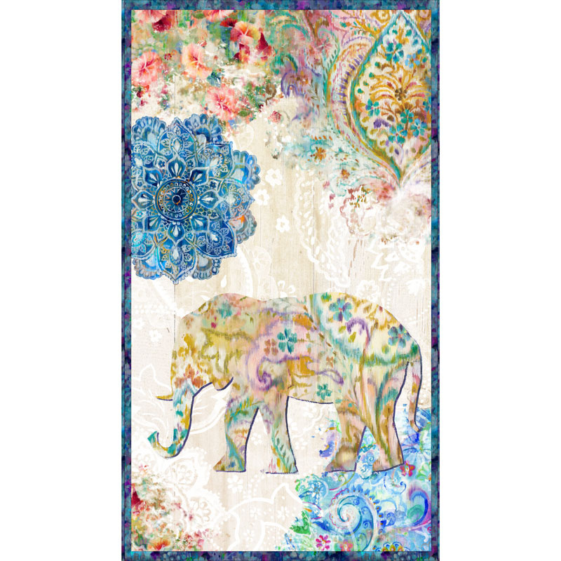 Bohemian Dreams Elephant Panel