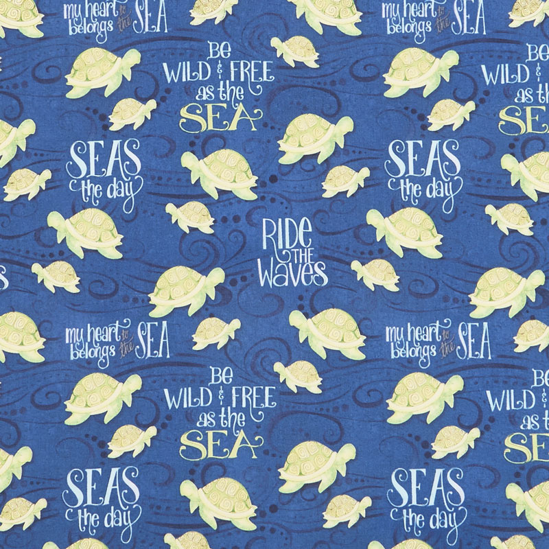 Water Wishes - Sea Turtles Navy
