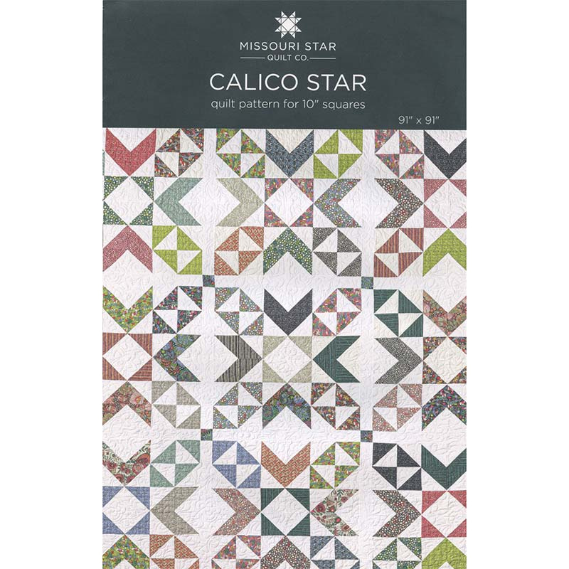 Calico Star Pattern by Missouri Star