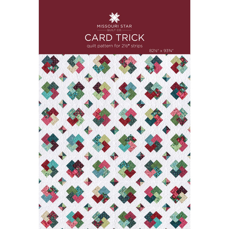 The Card Trick Quilt Pattern by MSQC