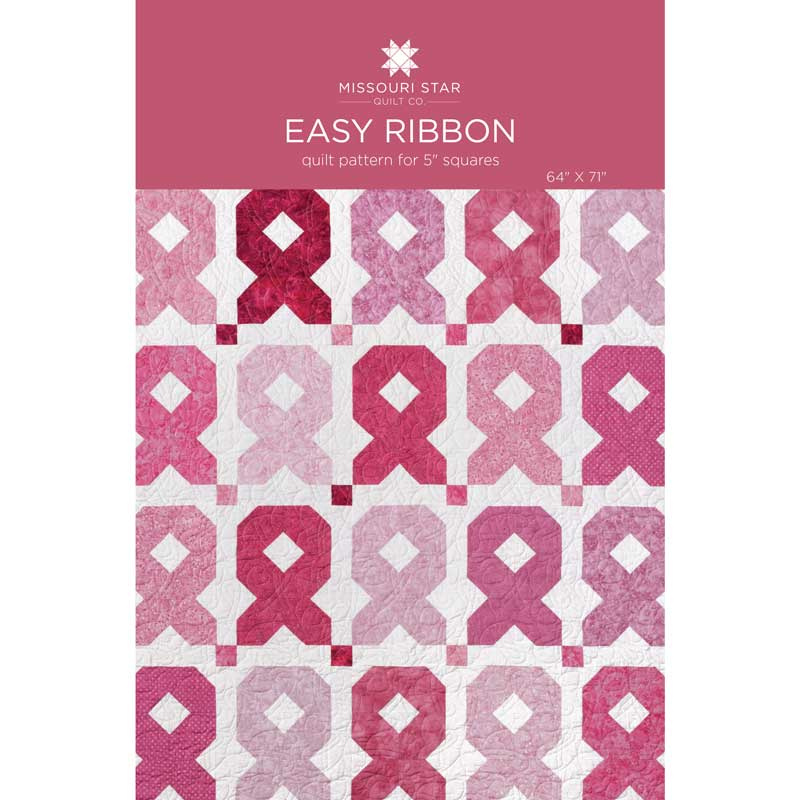 Easy Ribbon Quilt Pattern by Missouri Star