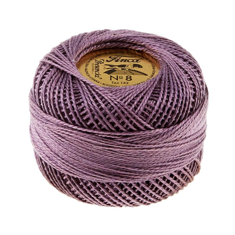 Finca Perle Cotton- Size 8 Medium Antique Violet