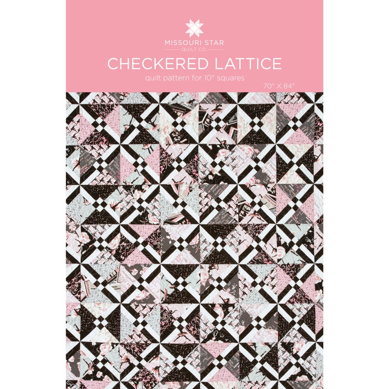 Checkered Lattice Quilt Pattern by MSQC