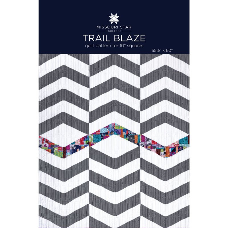 Trail Blaze Quilt Pattern by MSQC