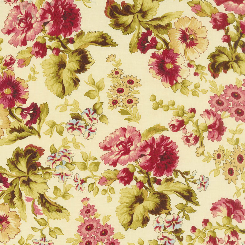 Bricolage - Large Floral Ivory