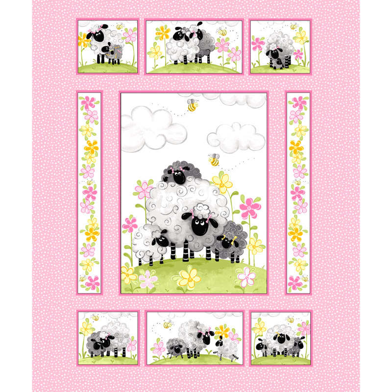 Mama Lal Quilt Panel