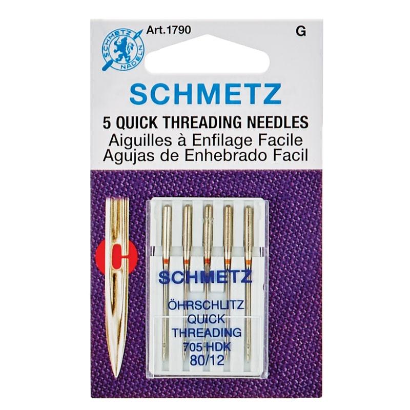 Schmetz Quick Threading (Handicap) Needles 80/12