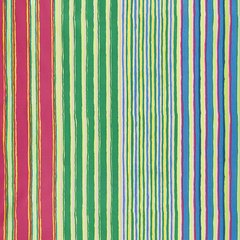 Kaffe Fassett Collective Fall 2017 - Dusk Regimental Stripe Green Yardage