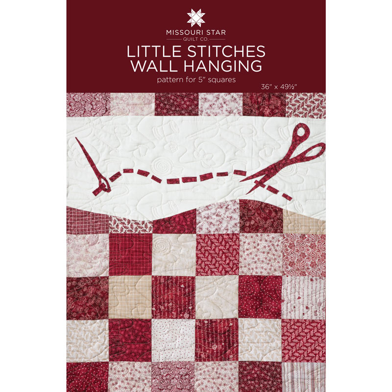 Little Stitches Wallhanging Quilt Pattern by MSQC