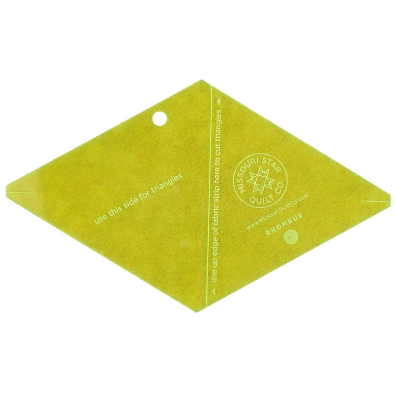 Missouri Star 5 Inch Rhombus Template