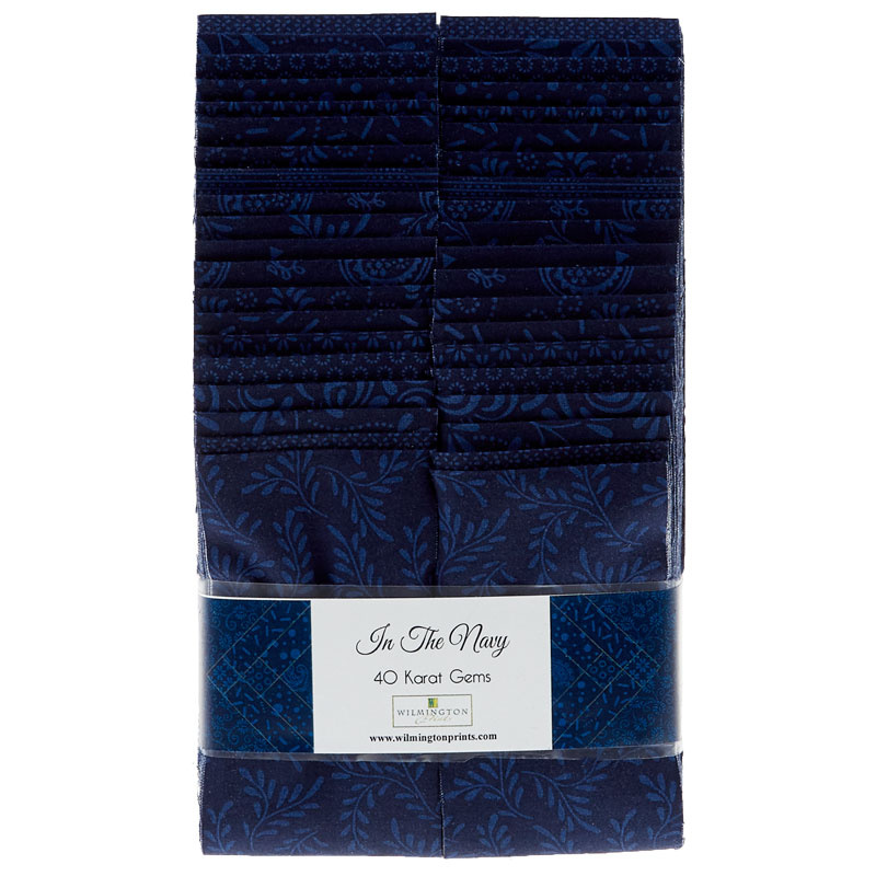 Essential Gems - In the Navy - 24 ct 2 1/2 strips